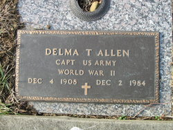 Capt Delma T Allen