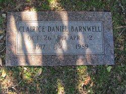 Clairice Neatherly <I>Daniel</I> Barnwell