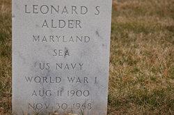 Leonard S Alder