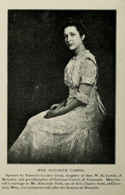Elizabeth Breathitt <I>Carroll</I> Scott