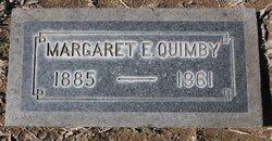 Margaret Emily <I>Skinner</I> Quimby