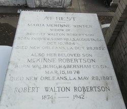 """Robert Walton """"Walton"""" Robertson, Jr"""