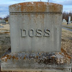 Martha Jane <I>Franks</I> Doss