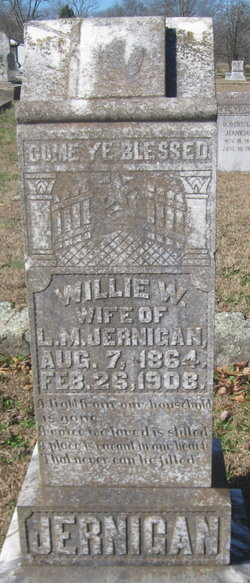 Willie W. <I>Moore</I> Jernigan