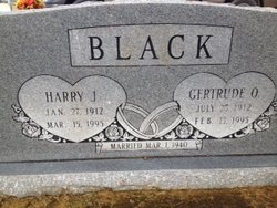 Harry J Black