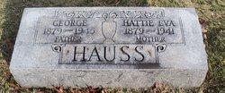 Hattie Eva <I>Schmid</I> Hauss