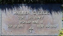 Warren G. Keck