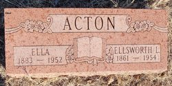 Ellsworth L Acton