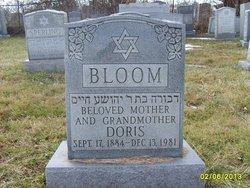 """Dora """"Doris"""" <I>Sperling</I> Bloom"""
