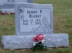 James F Ricker