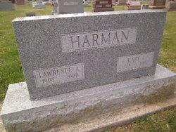 Mary L <I>Wehrly</I> Harman