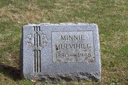 """Wilhelmina """"Minnie"""" <I>Schmidt</I> Mulvihill"""