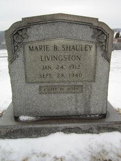 Marie Barbara <I>Shauley</I> Livingston