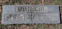 Melvin B Boatright