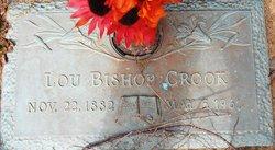 """Louise Alice Bishop """"Lou"""" <I>Praytor</I> Crook"""