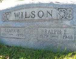 Clara B. <I>Bishop</I> Wilson