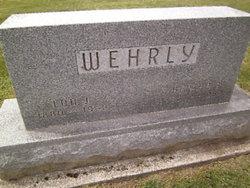 Bertha Beatrice <I>Lyons</I> Wehrly