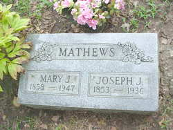 Mary Jane <I>Pillars</I> Mathews