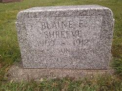 Blaine Emory Shreeve