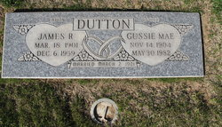 Gussie Mae <I>Lollar</I> Dutton
