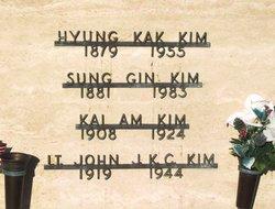 2LT John J K C Kim