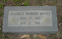 "Beatrice ""Bea"" <I>Warren</I> Myers"