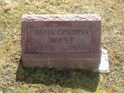 Anna <I>Gordon</I> West