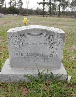 Pearl <I>McCorkle</I> Price