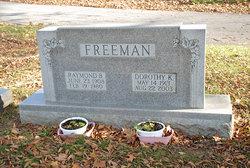 Dorothy K <I>Frees</I> Freeman