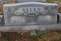 Annie Louise <I>Kinnaird</I> Allen