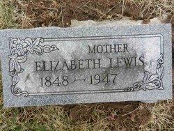 Elizabeth <I>Mock</I> Lewis
