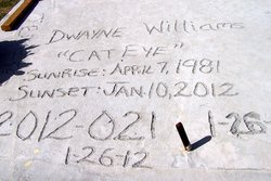 "Dwayne ""Cat Eye"" Williams"