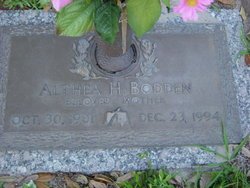 Althea Hyacinth Bodden