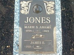 Mrs Marie S <I>Ruble</I> Adams-Jones