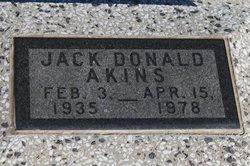 Jack Donald Akins