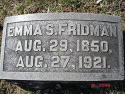 Emma F. <I>Shaw</I> Fridman