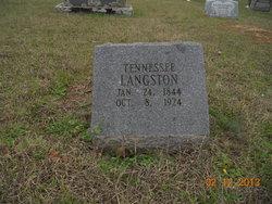 Tennessee <I>Nipp</I> Langston