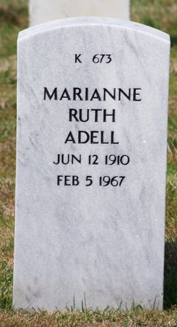 Marianne Ruth Adell