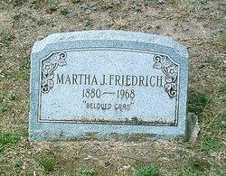 Martha Jane <I>Cook</I> Friedrich