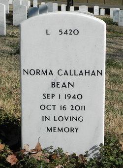 Norma Elden <I>Callahan</I> Bean