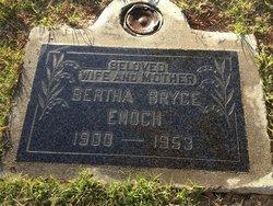 Bertha Pauline <I>Bryce</I> Enoch