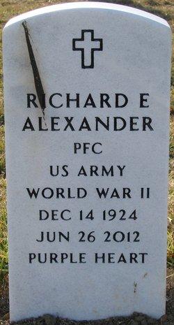 Richard E Alexander