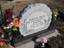 Maggie Ruth <I>Richardson</I> Payne