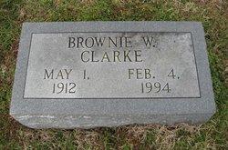 Brownie <I>Whitlock</I> Clarke