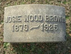 "Josephine ""Josie"" <I>Wood</I> Brown"