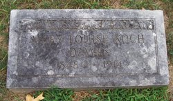 Mary Louise <I>Koch</I> Davies