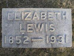 Elizabeth Frances <I>Black</I> Lewis