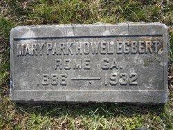 Mary Park <I>Howel</I> Egbert