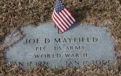 Joe D Mayfield
