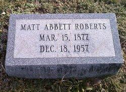 Matt Abbett Roberts